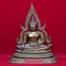 พระพุทธชินราช วัดวังทอง 5นิ้ว ปี2514 ดินไทย