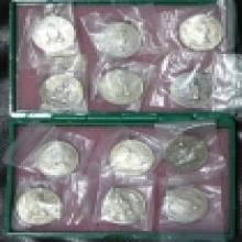 เหรียญทรงผนวชอัลปาก้าบล๊อกธรรมดาซองเดิม