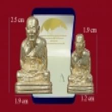 รูปหล่อหลวงปู่ทวด เบตง 3 เนื้อทองระฆัง ปี 2554