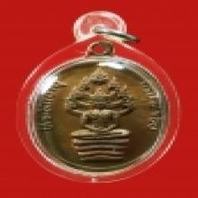 เหรียญนาคปรก 8 รอบหลวงปู่ทิม บล็อกนิยม อุใหญ่ แขนจุด สายฝน ส