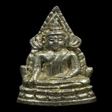 พระพุทธชินราชอินโดจีน สังฆาฏิยาว เปียกเงิน