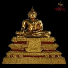 พระบูชาพิมพ์พระประธาน หลวงปู่โต๊ะ หน้าตัก 5นิ้ว กะไหล่ทอง