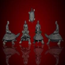 พระบูชา หลวงปู่หลิวนั่งเต่า 90 ปีวาระแรก ขนาดหน้าตัก 7 นิ้ว