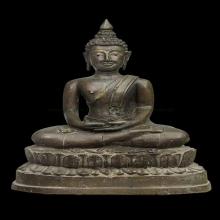 072พระพุทธรูปหล่อโบราณ งานช่างหลวง ยุค ร.๒ - ๓