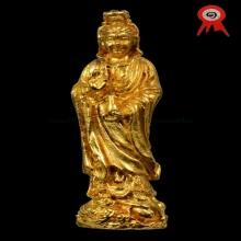 หลวงปู่โต๊ะ เจ้าแม่กวนอิม(พิมพ์เล็ก)กะไหล่ทองแชมป์งานสามพราน