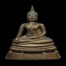 076พระพุทธชินสีห์ จำลอง ยุดสมัยรัชกาลที่ ๕ - ๖ งานช่างหลวง
