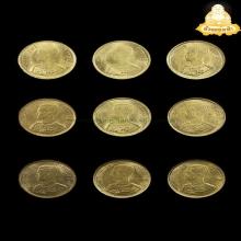 เหรียญขวัญถุง ลป.เพิ่ม วัดกลางบางแก้ว มีจารทุกเหรียญ