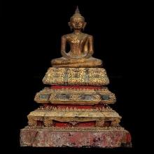 011พระพุทธรูปไม้ สมัยอยุธยา ศิลปะบ้านพลูหลวง